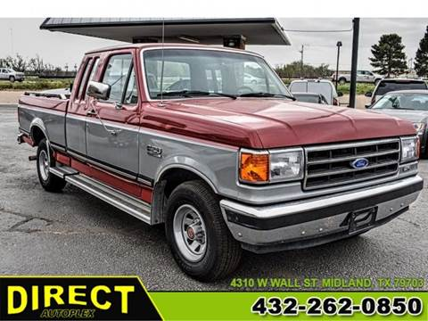 1991 Ford F-150 for sale in Midland, TX