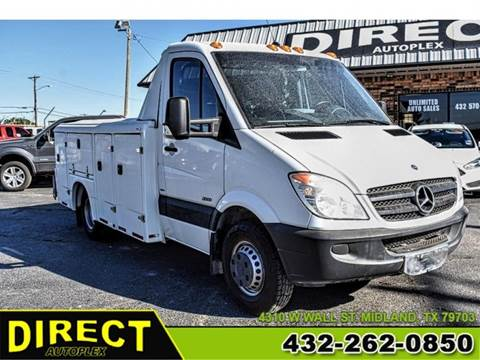 2013 Mercedes-Benz Sprinter Cab Chassis for sale in Midland, TX