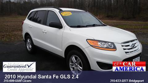 2010 Hyundai Santa Fe for sale in Bridgeport, NY