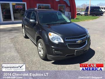 2014 Chevrolet Equinox for sale in Bridgeport, NY