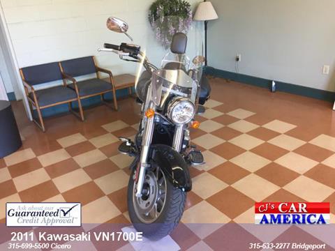 2011 Kawasaki VN1700E for sale in Bridgeport, NY