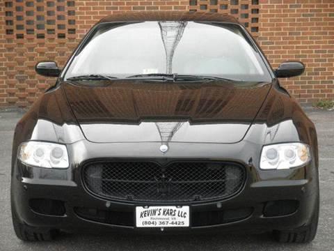 2008 Maserati Quattroporte for sale at Kevin's Kars LLC in Richmond VA