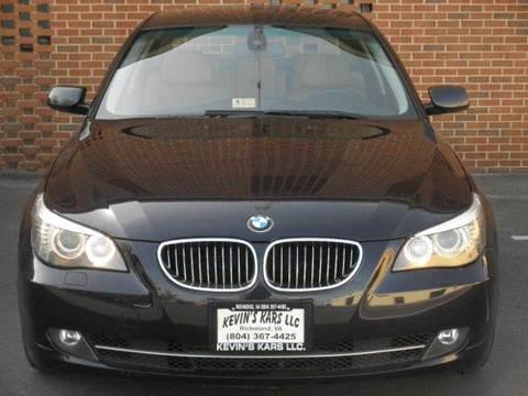 2008 BMW 5 Series for sale at Kevin's Kars LLC in Richmond VA