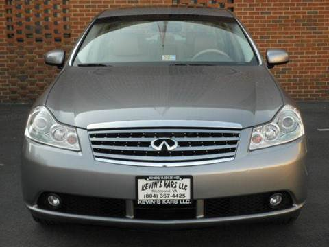 2007 Infiniti M35 for sale at Kevin's Kars LLC in Richmond VA