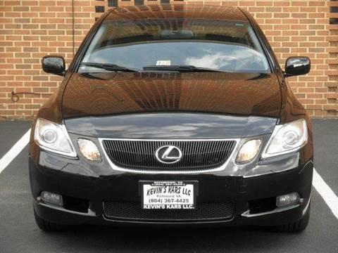 2006 Lexus GS 300 for sale at Kevin's Kars LLC in Richmond VA
