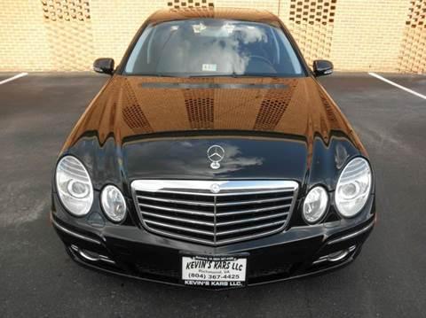 2008 Mercedes-Benz E-Class for sale at Kevin's Kars LLC in Richmond VA