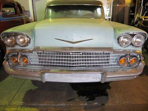 1958 Chevrolet Bel Air for sale at Heartland Classic Cars in Effingham IL