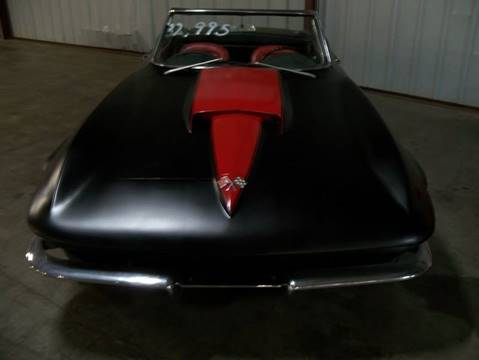 1963 Chevrolet Corvette for sale at Heartland Classic Cars in Effingham IL