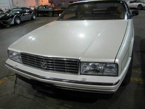 1988 Cadillac Allante for sale at Heartland Classic Cars in Effingham IL
