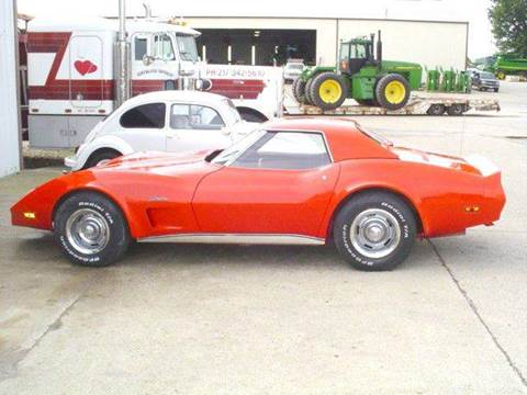 1976 Chevrolet Corvette for sale at Heartland Classic Cars in Effingham IL