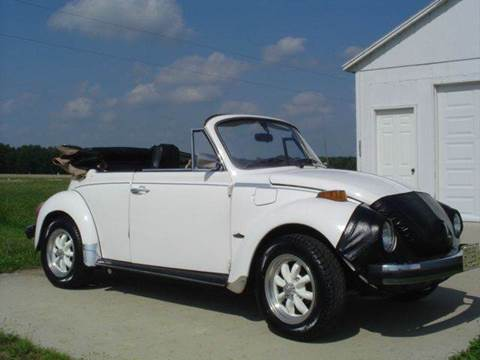 1976 Volkswagen Beetle for sale at Heartland Classic Cars in Effingham IL
