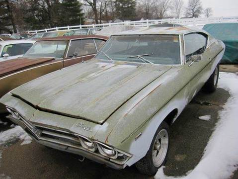 1969 Chevrolet Chevelle for sale at Heartland Classic Cars in Effingham IL