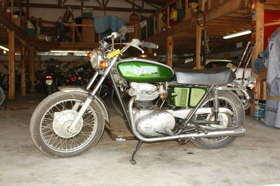 1972 BSA Lightning for sale at Heartland Classic Cars in Effingham IL