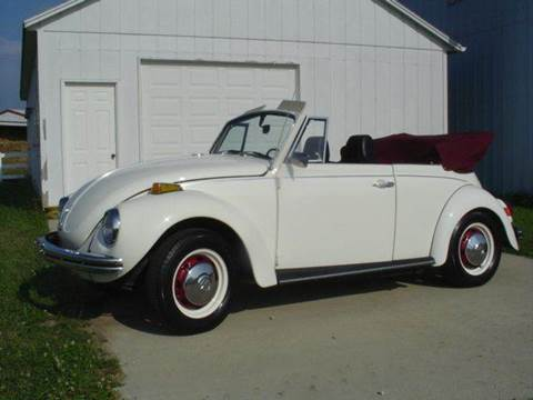 1972 Volkswagen Beetle for sale at Heartland Classic Cars in Effingham IL