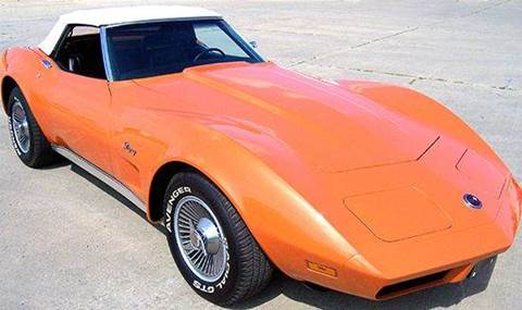 1974 Chevrolet Corvette for sale at Heartland Classic Cars in Effingham IL