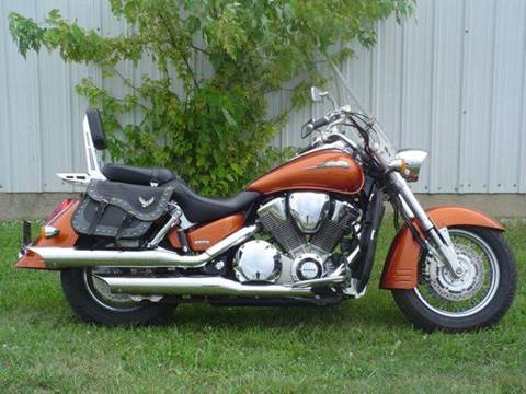 2002 Honda VTX1800S for sale at Heartland Classic Cars in Effingham IL