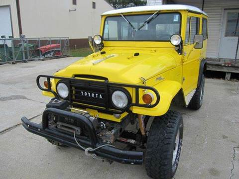 1966 Toyota Land Cruiser for sale at Heartland Classic Cars in Effingham IL