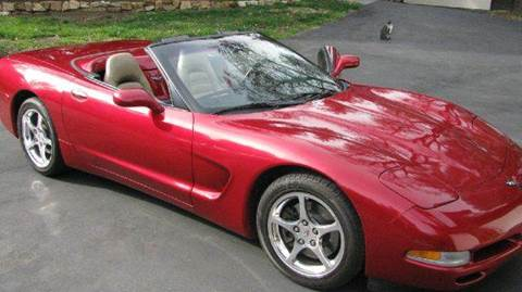 2002 Chevrolet Corvette for sale at Heartland Classic Cars in Effingham IL