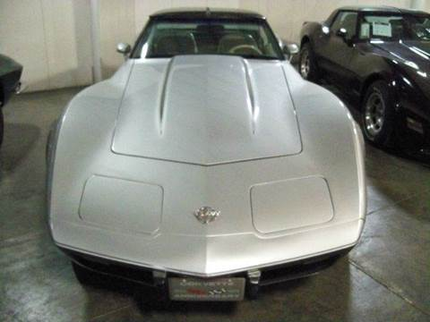 1978 Chevrolet Corvette for sale at Heartland Classic Cars in Effingham IL