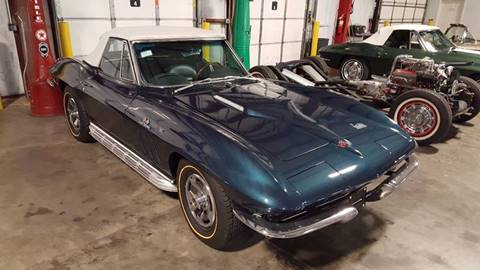 1966 Chevrolet Corvette for sale at Heartland Classic Cars in Effingham IL