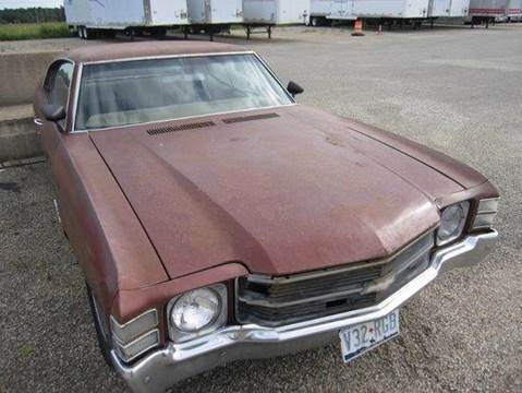 1971 Chevrolet Malibu for sale at Heartland Classic Cars in Effingham IL