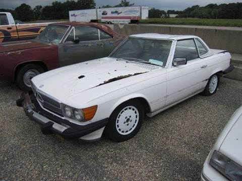 1976 Mercedes-Benz 450 SL for sale at Heartland Classic Cars in Effingham IL
