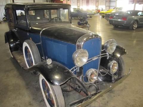 1931 Oldsmobile Custom Cruiser