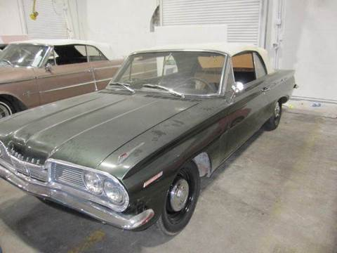 1962 Pontiac Tempest for sale at Heartland Classic Cars in Effingham IL
