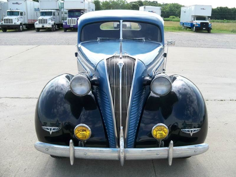 1937 Hudson Deluxe 8 for sale at Heartland Classic Cars in Effingham IL