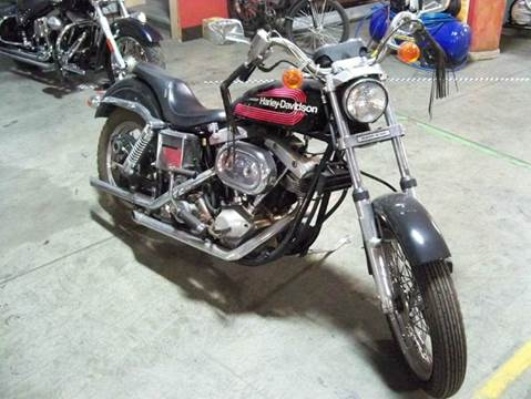 1976 Harley-Davidson Super Glide for sale at Heartland Classic Cars in Effingham IL