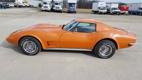 1973 Chevrolet Corvette for sale at Heartland Classic Cars in Effingham IL