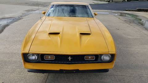 1971 Ford Mustang for sale at Heartland Classic Cars in Effingham IL