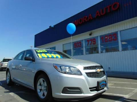2013 Chevrolet Malibu for sale at ZAMORA AUTO LLC in Salem OR