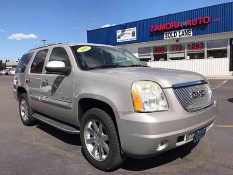 2007 GMC Yukon for sale at ZAMORA AUTO LLC in Salem OR