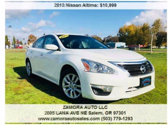 2013 Nissan Altima For Sale At ZAMORA AUTO LLC In Salem OR
