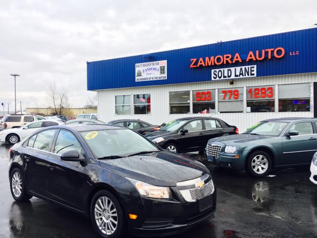 2012 Chevrolet Cruze for sale at ZAMORA AUTO LLC in Salem OR