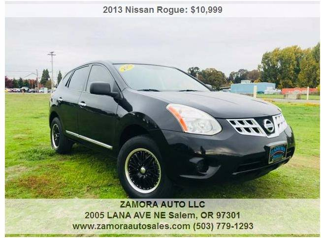 2013 Nissan Rogue For Sale At ZAMORA AUTO LLC In Salem OR