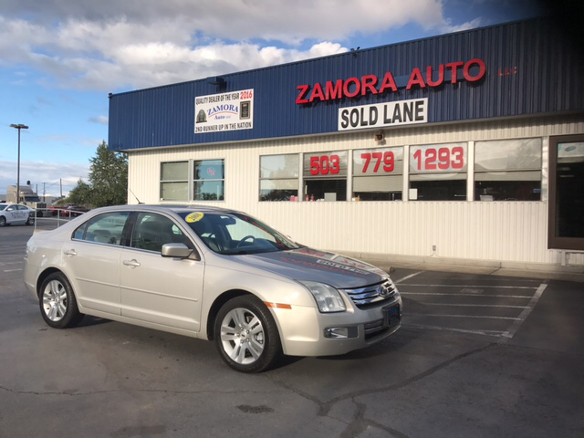 2008 Ford Fusion for sale at ZAMORA AUTO LLC in Salem OR