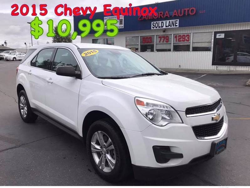 2015 Chevrolet Equinox for sale at ZAMORA AUTO LLC in Salem OR