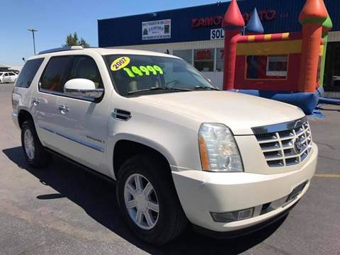 2007 Cadillac Escalade for sale at ZAMORA AUTO LLC in Salem OR