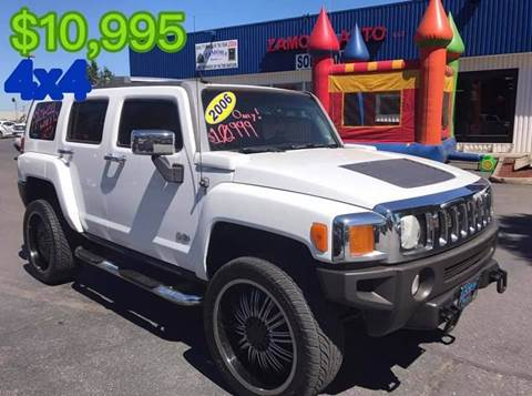 2006 HUMMER H3 for sale at ZAMORA AUTO LLC in Salem OR