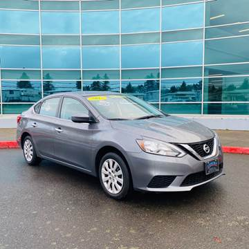 2018 Nissan Sentra for sale at ZAMORA AUTO LLC in Salem OR