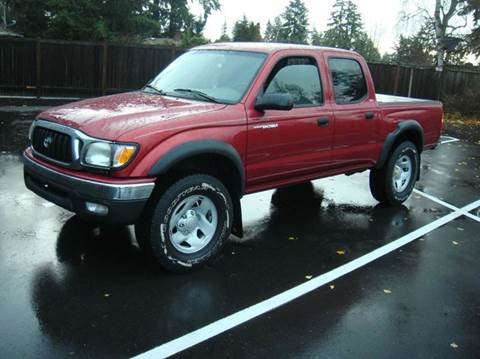2003 Toyota Tacoma for sale at Western Auto Brokers in Lynnwood WA