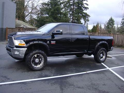 2012 RAM Ram Pickup 2500 for sale at Western Auto Brokers in Lynnwood WA