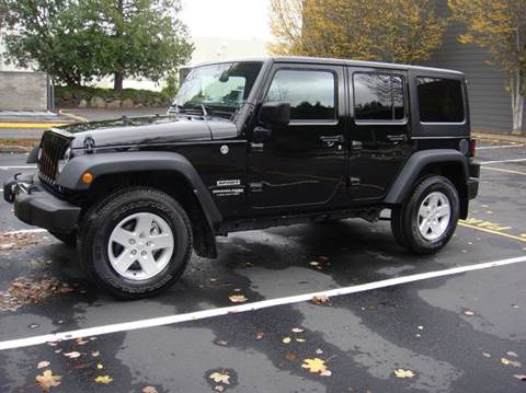 2018 Jeep Wrangler Unlimited for sale at Western Auto Brokers in Lynnwood WA