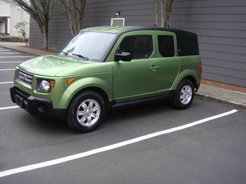 2008 Honda Element for sale at Western Auto Brokers in Lynnwood WA