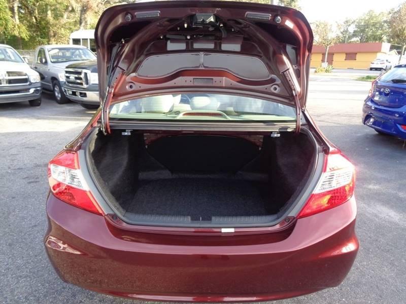 2012 Honda Civic EX 4dr Sedan In Tampa FL - Linus