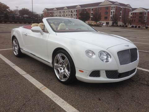 2012 Bentley Continental for sale at International Motor Group LLC in Hasbrouck Heights NJ