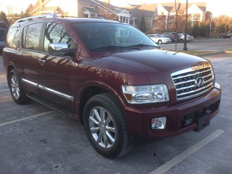 2010 Infiniti QX56 for sale at International Motor Group LLC in Hasbrouck Heights NJ