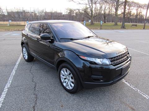 2014 Land Rover Range Rover Evoque for sale at International Motor Group LLC in Hasbrouck Heights NJ